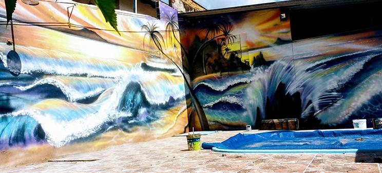Confira a Arte de Elvis, grafiteiro de Botucatu que se destaca pelo seu trabalho em muros, caminhões e outras superfícies