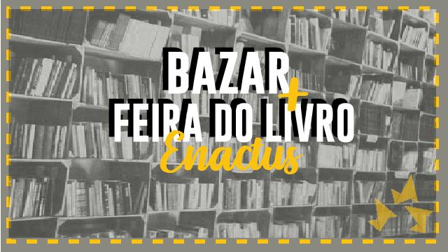 Bazar de livros Enactus