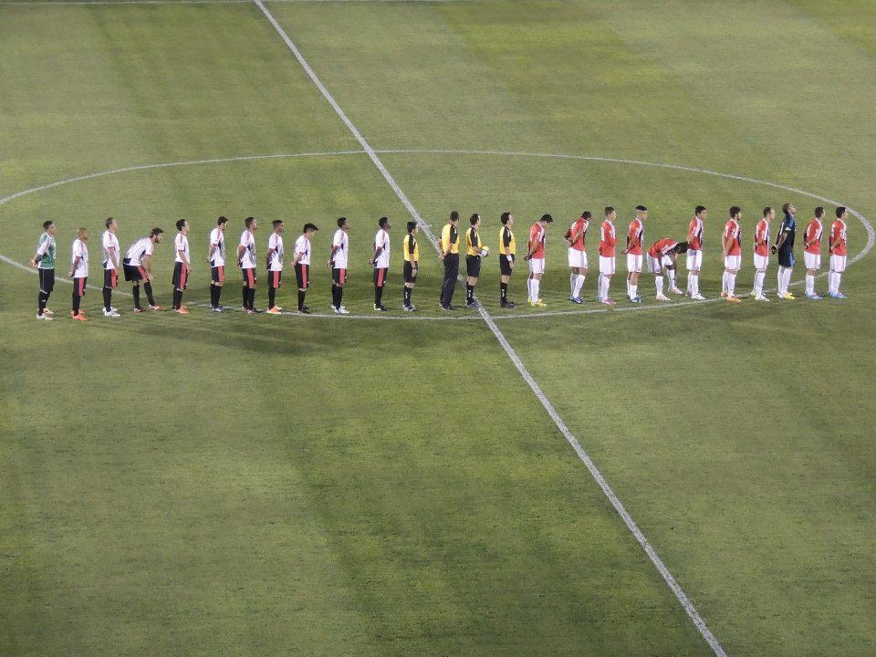 time da Santacruzense versus Botafogo