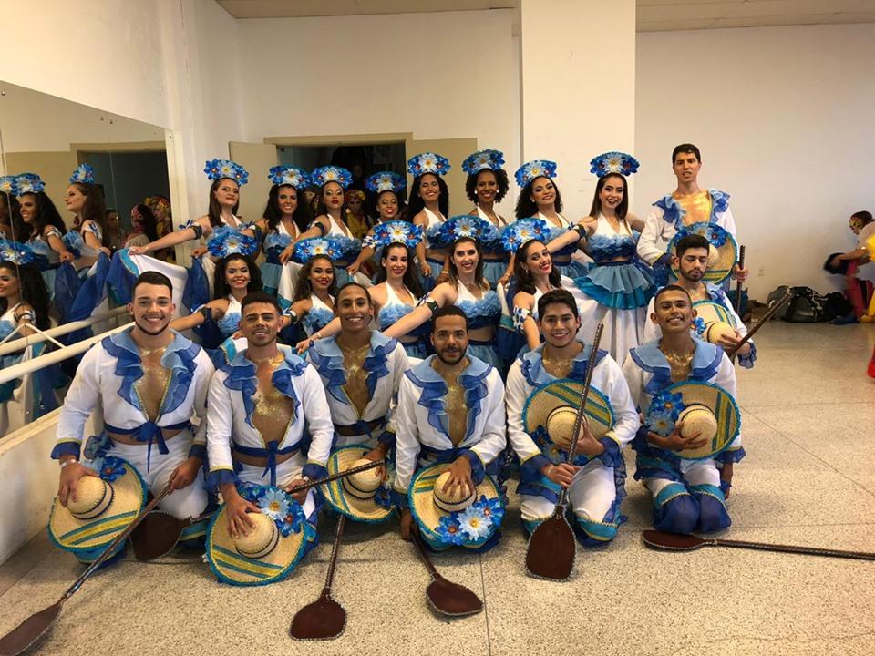 Ballet Municipal Foto divulgado no Facebook da Prefeitura