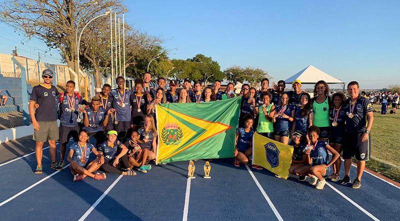 Atletismo ABDA Jogos Regionais Botucatu