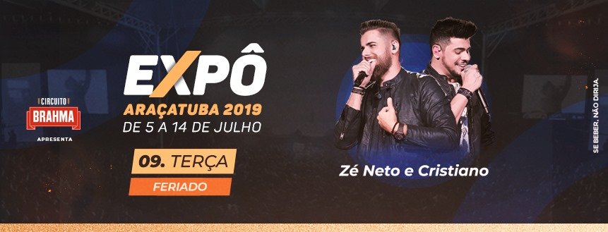 A 60ª edição da Expô Araçatuba já está ai! E você, já se preparou para a temporada sertaneja!?