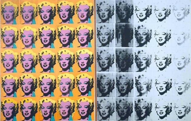 Marilyn Diptych (1962), de Andy Warhol