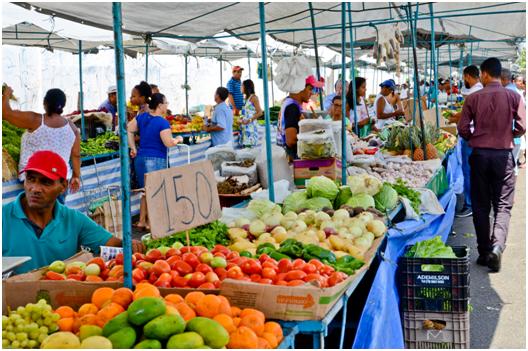 feiras livres em aracaju
