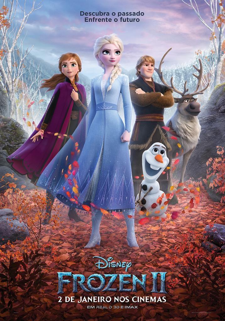 Cartaz oficial do filme Frozen 2