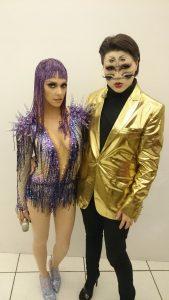 Koichi Sonoda e Fernanda Lima