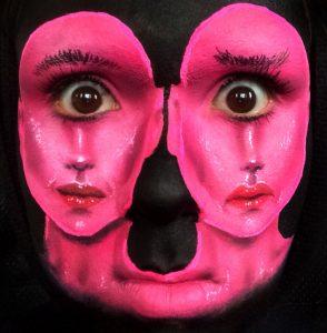 Maquiagem Artística Gêmeas Siamesas Ciclopes - Koichi Sonoda