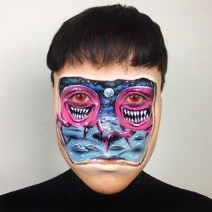 Maquiagem Artística Monstrinhos Risonhos - Koichi Sonoda