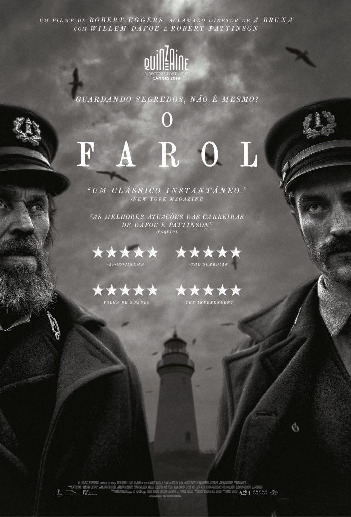 Cartaz oficial do filme O Farol