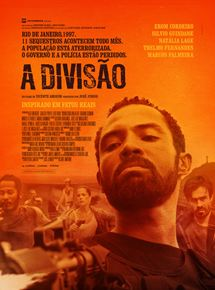 Cartaz oficial do filme A Divisão