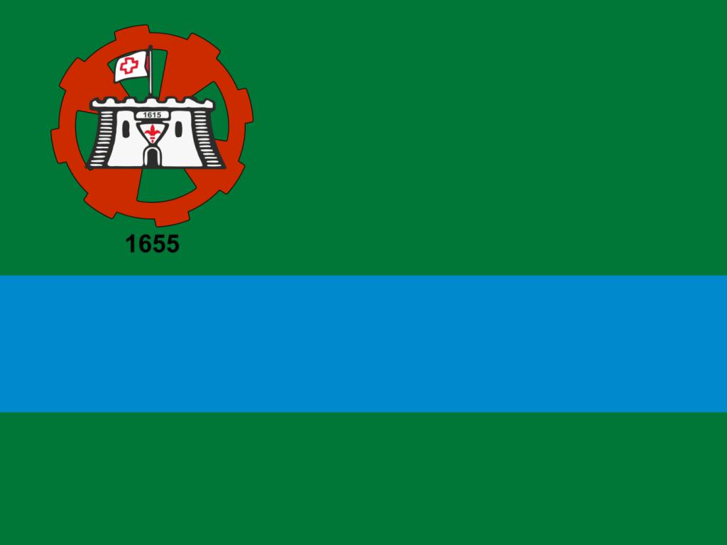 Bandeira do município de Jundiaí.