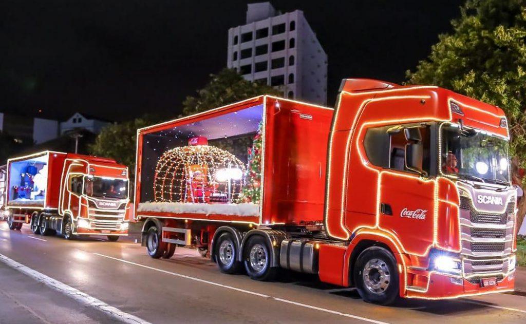 caravana da Coca-Cola