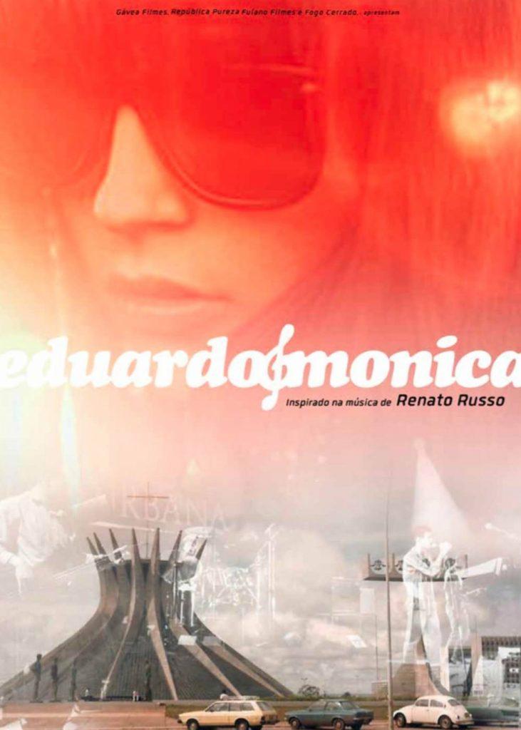 Cartaz oficial do filme Eduardo e Mônica