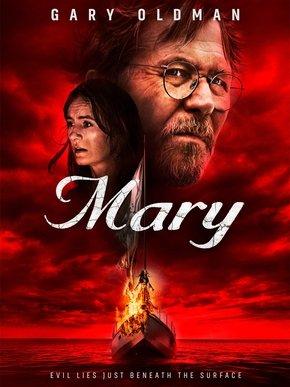 Cartaz oficial do filme A Possessão de Mary