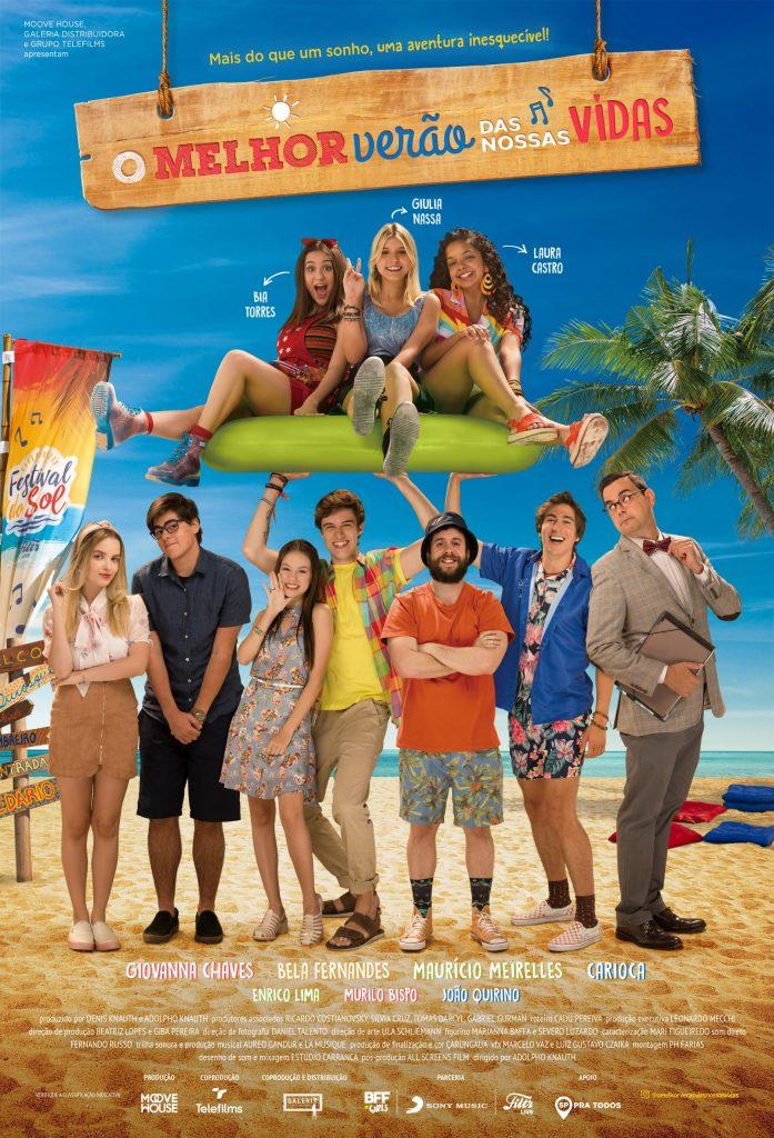 Cartaz oficial do filme O Melhor Verão