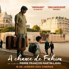 Cartaz oficial do filme A Chance de Fahim