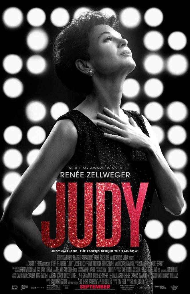 Cartaz oficial do filme  Judy