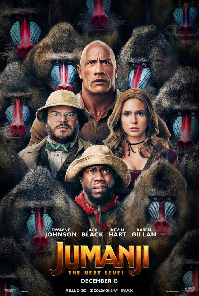 Cartaz oficial do filme Jumanji