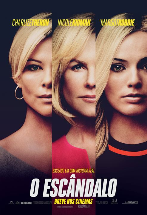 Cartaz oficial do filme O Escândalo