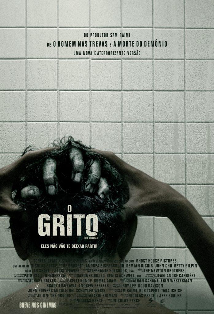 Cartaz oficial do filme O Grito