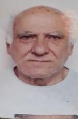 foto de um senhor de cabelos brancos, pai de Pedro