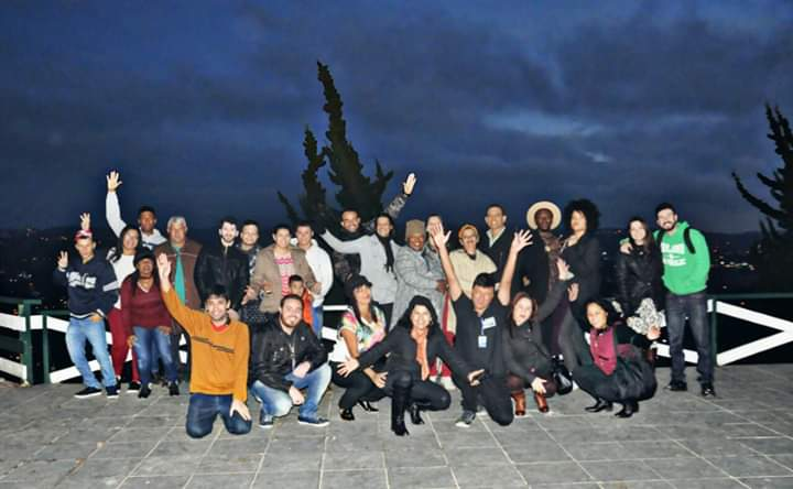 Foto de uma das turmas que viajaram com a Eufórikos Turismo.