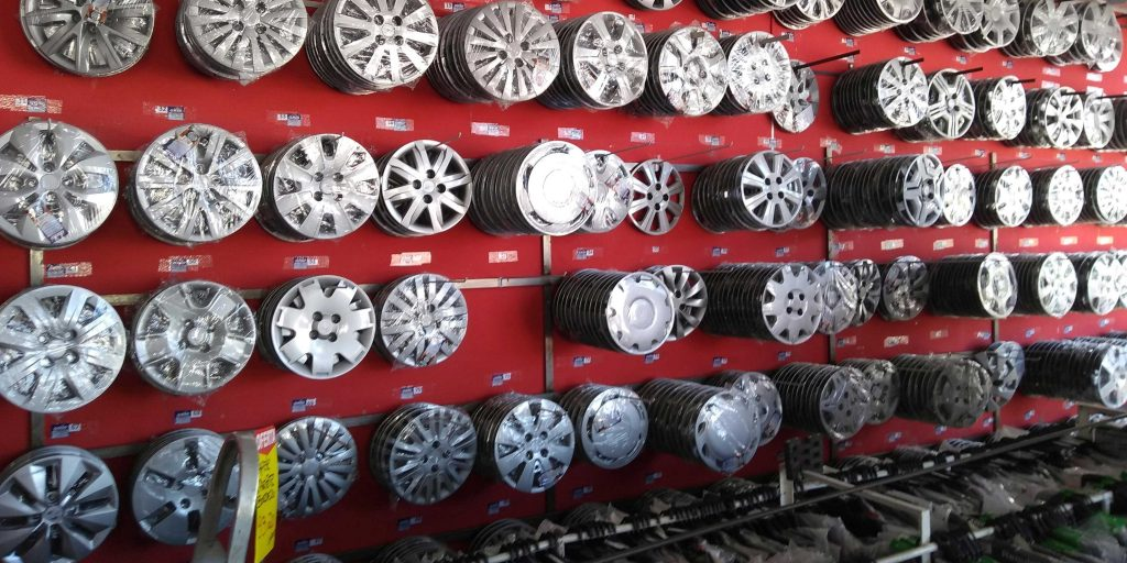 calotas e rodas