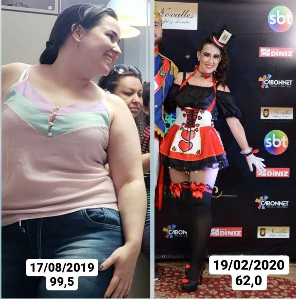 Determinação: prudentina emagrece 35 kg com dietas e exercícios