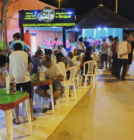 tapioca em Aracaju