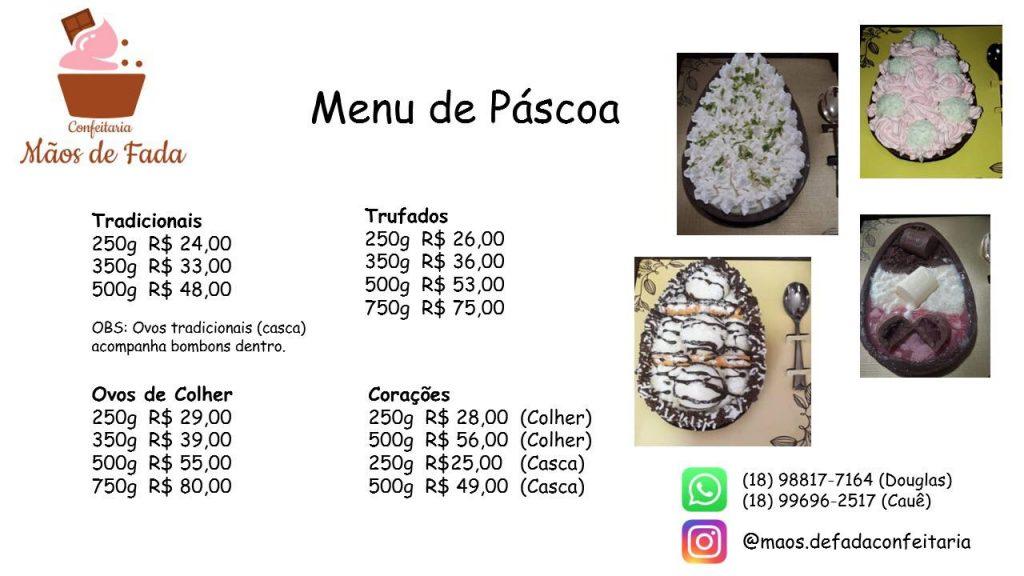 Confeiteiras fazem entregas de ovos de páscoa em Presidente Prudente