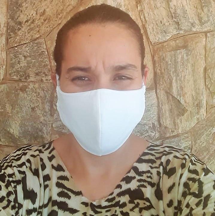 Ação solidária: prudentinas vendem máscaras de pano à R$ 5 reais ou em troca de 1kg de alimento