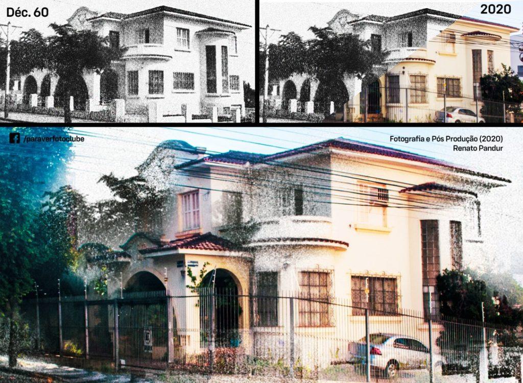 Fotógrafo mescla fotos antigas com atuais de pontos famosos em Presidente Prudente