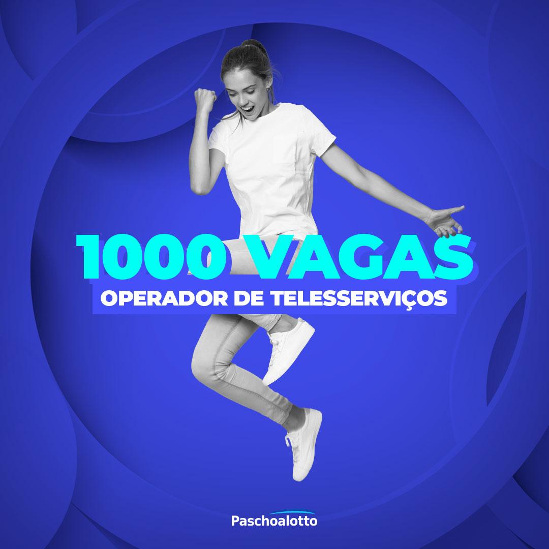 1.000 vagas