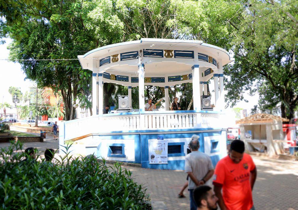Coreto da Praça do Mercado Municipal