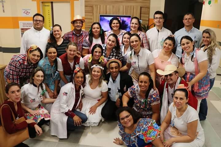 Hospital Regional realiza arraiá para pacientes do setor de hemodiálise