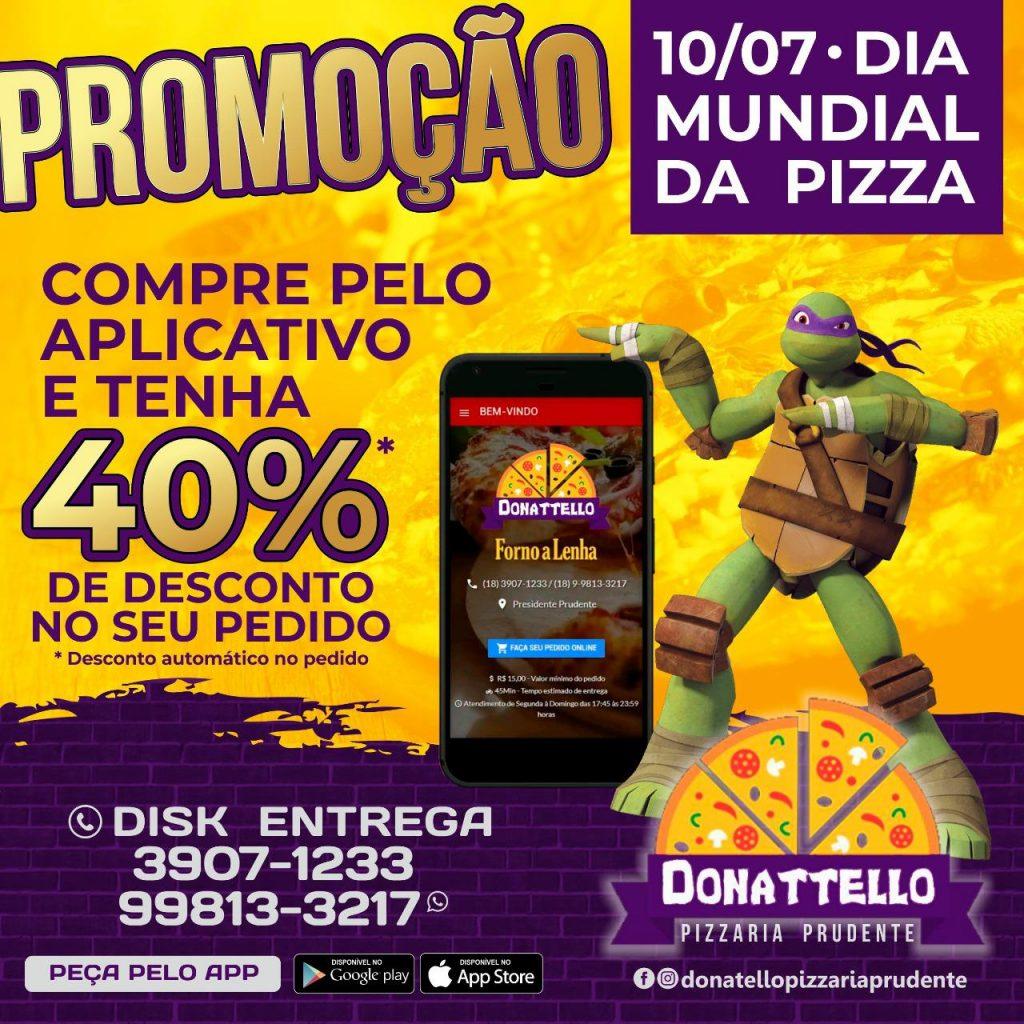 Saiba quais pizzarias de Presidente Prudente estão com promoções no Dia Mundial da Pizza