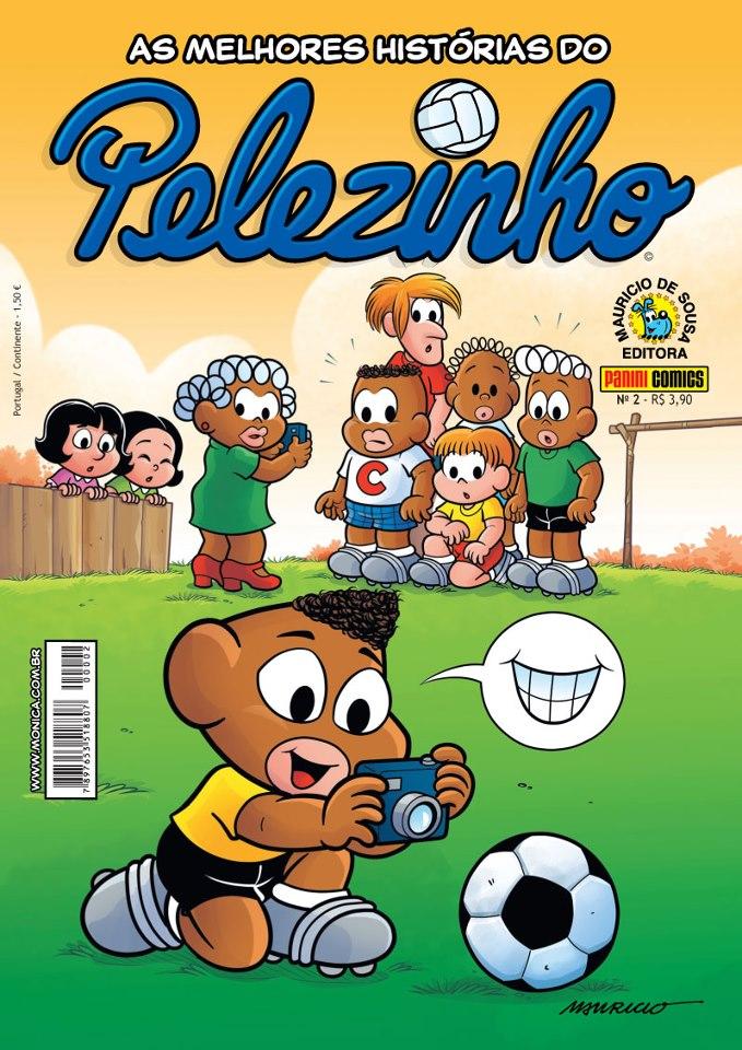 Gibi Pelezinho, de Mauricio de Sousa, criador da Turma da Monica.