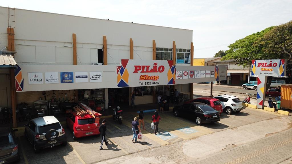 Imagem da frente da loja Pilão.