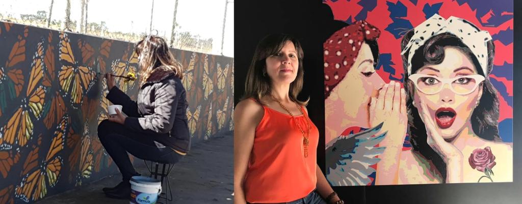Regina Moscheto. 8 artistas bauruenses para você conhecer