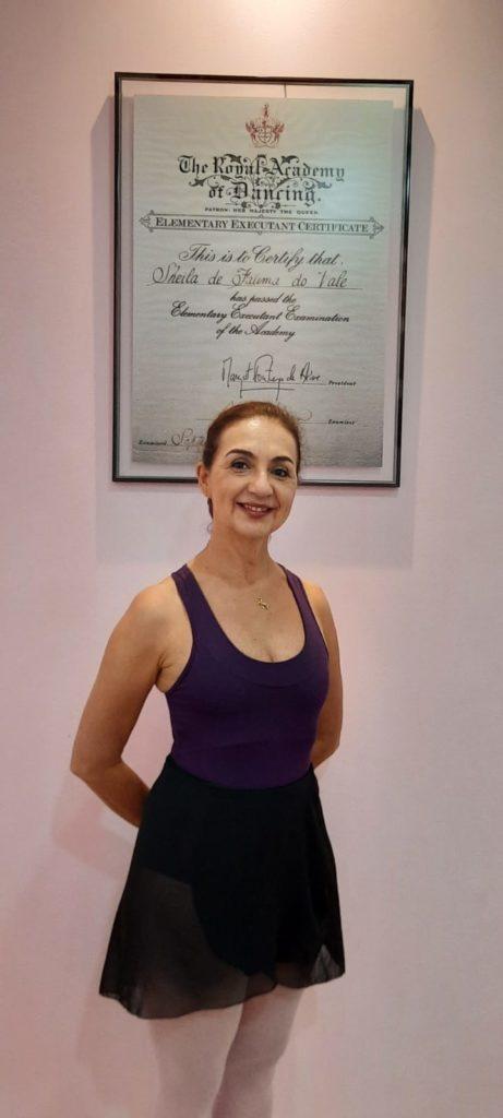 """Bailarina Scheila do Valle vive em Bauru há 30 anos: """"Tudo que conquistei foi por meio da dança"""""""