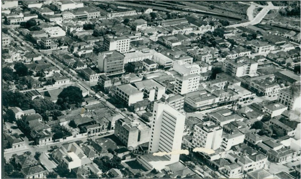 6 curiosidades e histórias sobre o Jardim Bela Vista, um dos bairros mais antigos de Bauru. Foto mostra Vista aérea do Jardim Bela Vista