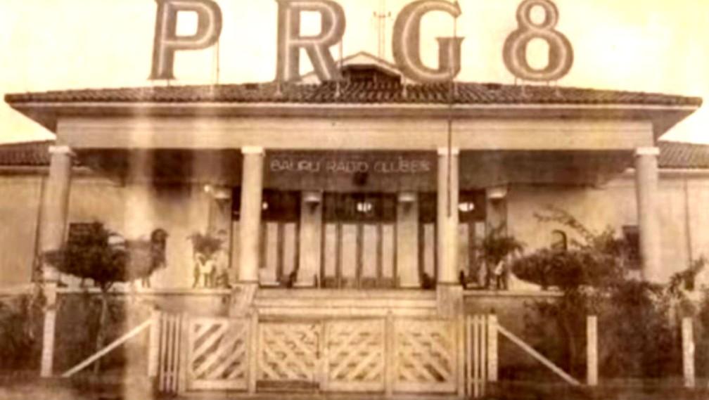 PRG-8 ou Bauru Rádio Clube no Jardim Bela Vista