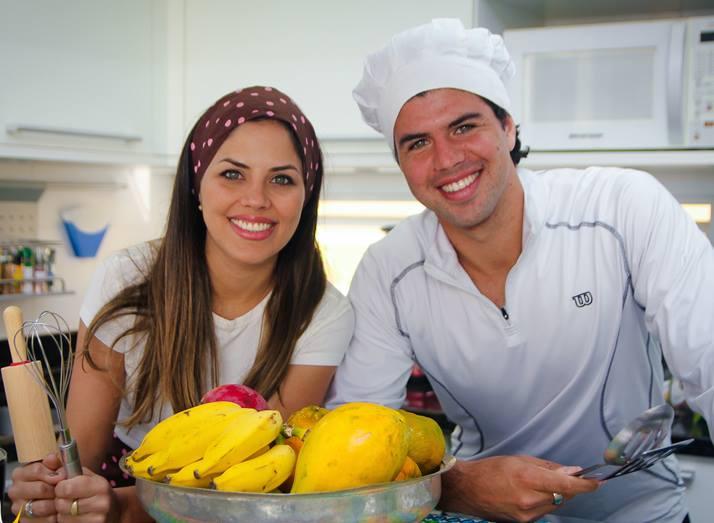 Carol e Rodolfo Bustamante são Irmãos na Cozinha nas redes sociais