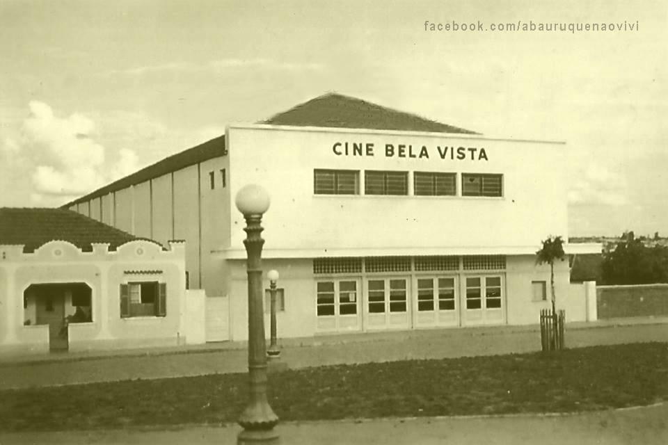 Foto antiga do Cine Bela Vista em Bauru