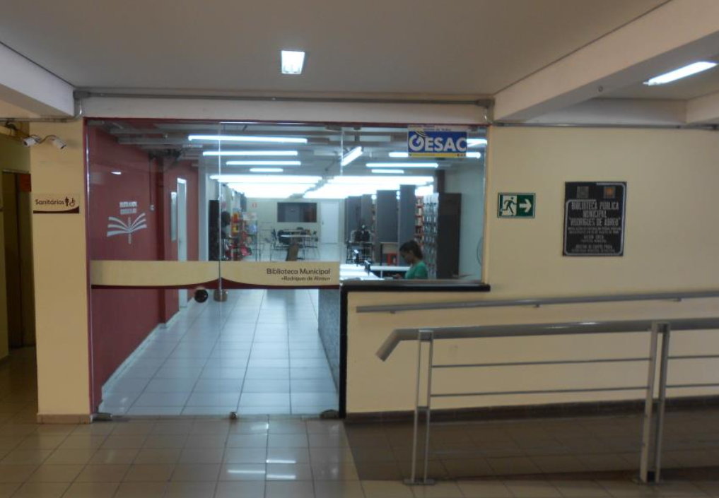 Biblioteca Municipal Rodrigues de Abreu: Espaços culturais em Bauru