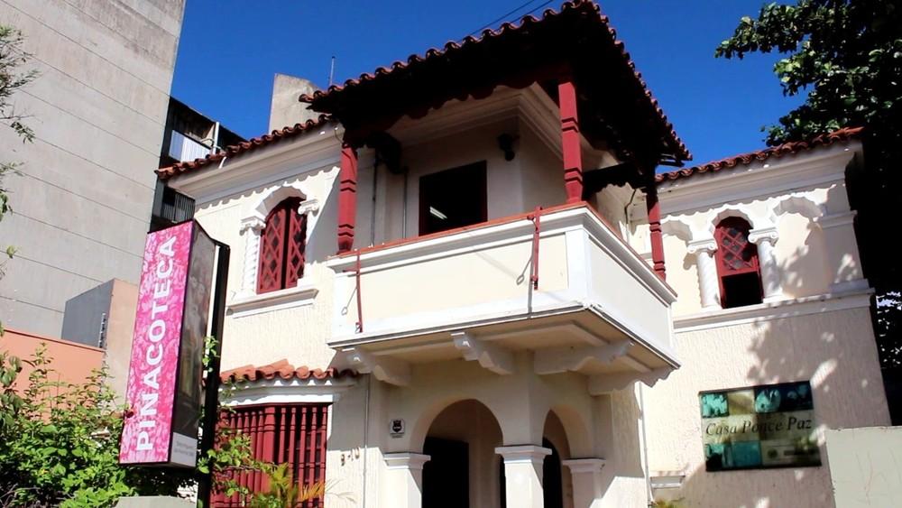 Espaços culturais em Bauru: Pinacoteca e Casa Ponce Paz