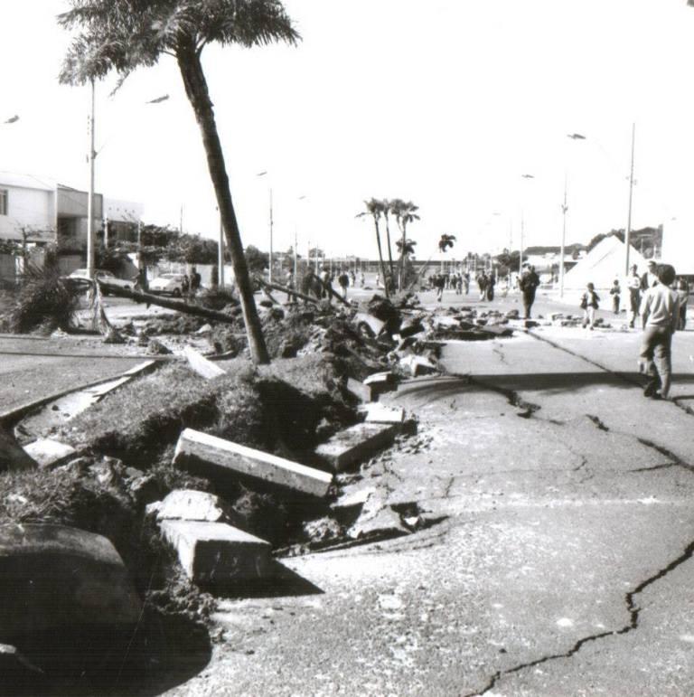 Explosão na Avenida Nações Unidas em Bauru