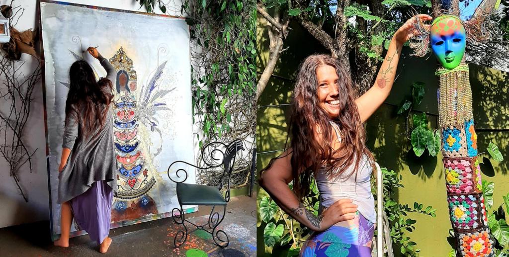 Viviane Mendes está entre os artistas bauruenses