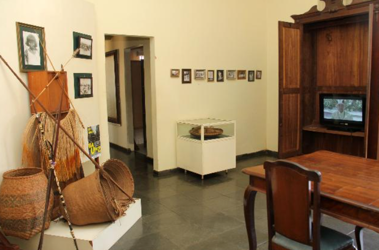 As heranças indígenas e a origem de Bauru. Na foto, acervo indígena do Museu Histórico Municipal de Bauru