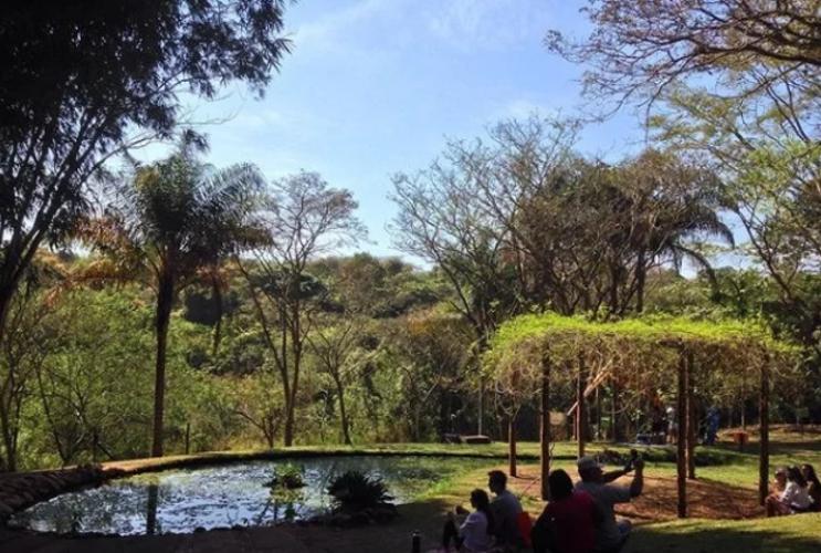 Sistema de tratamento de águas residuárias por alagados no Jardim Botânico de Bauru